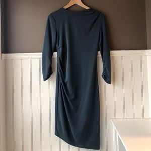 Green Angled Topshop Dress Size 2